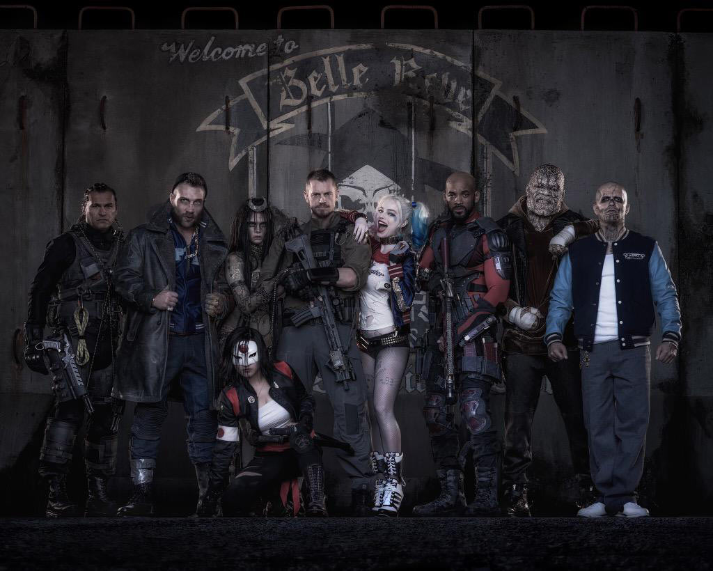 First Looks at Harley Quinn, Deadshot and the Whole Suicide Squad Team!