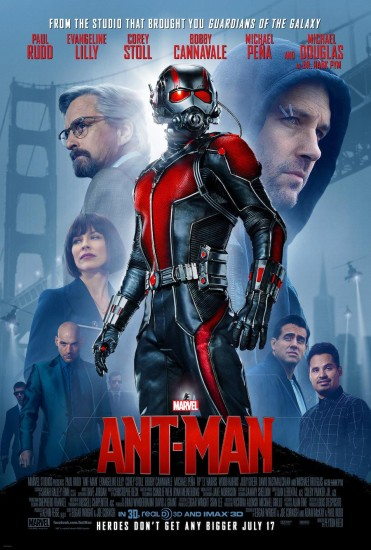 New Ant-Man Poster Stands Tall