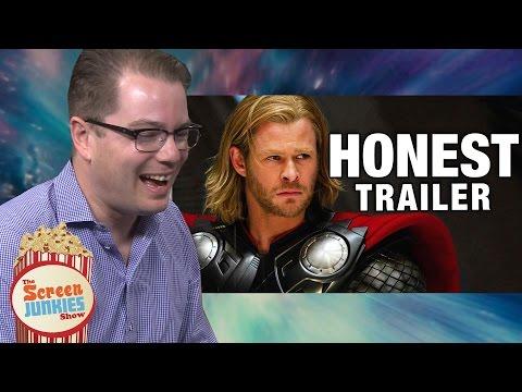 Watch the Screenwriter for Thor Watch Screenjunkie's Honest Trailer