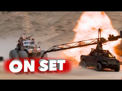 A Behind The Scenes Look At Mad Max Fury Road