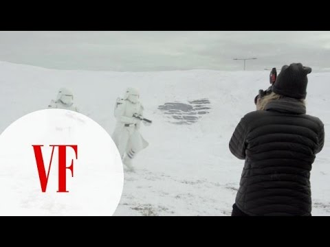 A Behind The Scenes Look At The Annie Leibovitz Vanity Fair Star Wars Cover