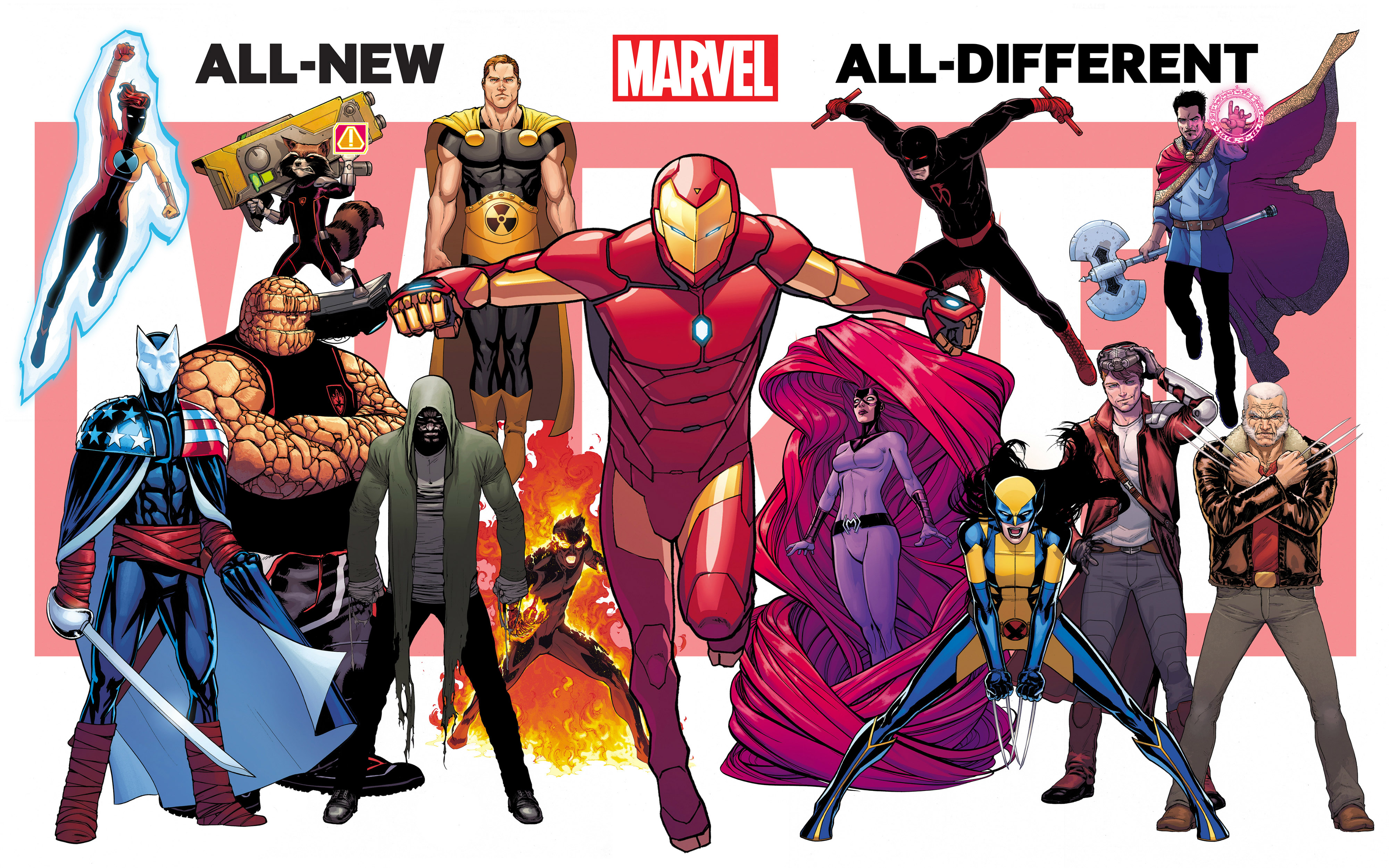GET EXCITED! Marvel Reveals 45 New Titles Coming Out Post Secret Wars!