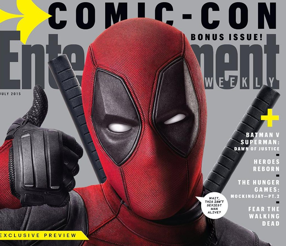 Deadpool Makes Jokes on Entertainment Weekly Cover