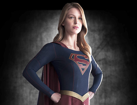 Behind the Scenes Shots of Melissa Benoist Prove She's Made to Play Supergirl!