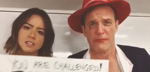 The Agents of S.H.I.E.L.D./Agent Carter Dubsmash War of 2015 Wages On!