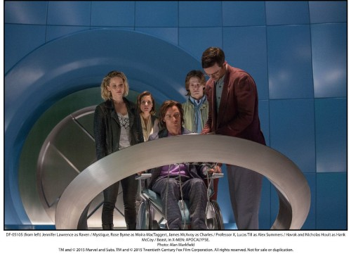 X-Men: Apocalypse High Def Stills Show Off the Young Cast!