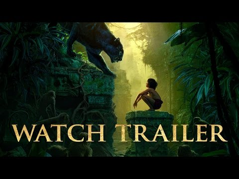 First Trailer for Disney's The Jungle Book Is Spine-Tingling!!!