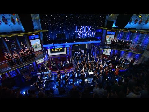 Check Out The Legend Of Zelda: Symphony of The Goddesses on The Late Show with Stephen Colbert