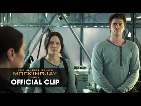 "OFFICIAL CLIP from The Hunger Games: Mockingjay Part 2 – ""Star Squad"" – Katniss Is Not Happy"