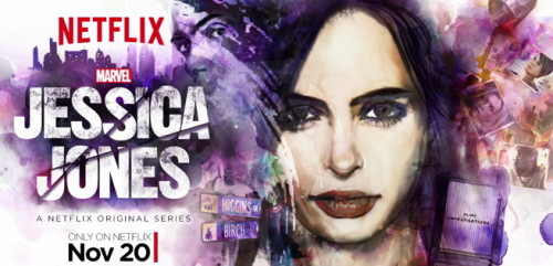 Jessica Jones Motion Poster Arrives with News of When Trailer Will Drop!