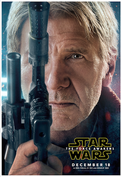 5 Stunning New Character Posters for Star Wars: The Force Awakens!