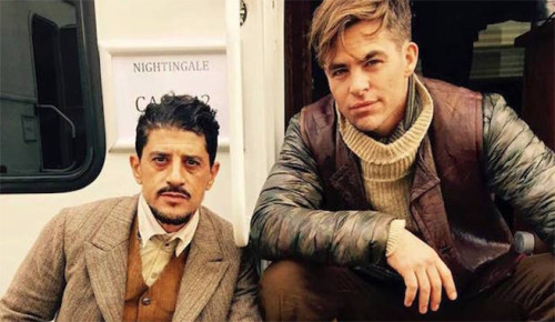 Saïd Taghmaoui is a Superhero and Chris Pine is Playing Two Roles in Wonder Woman!