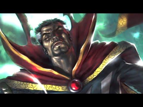 Concept Art of Doctor Strange Promises It's a Mind Trip Action Film