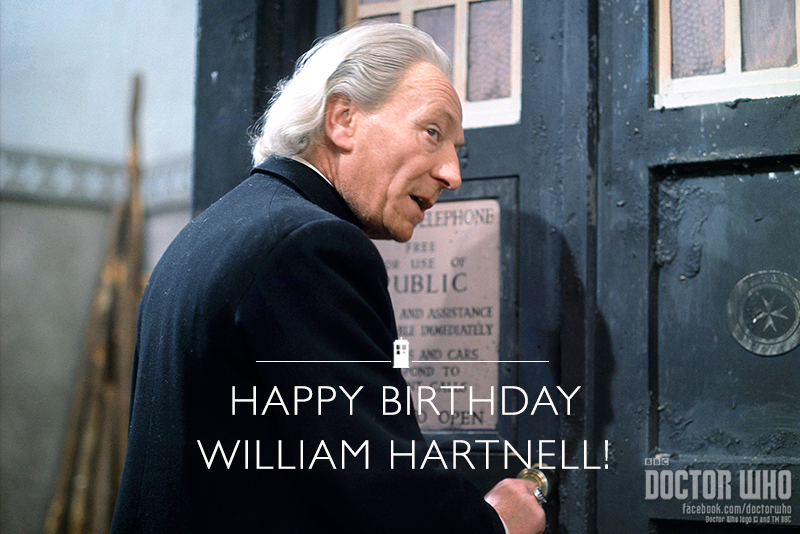 Happy Birthday To The OG Doctor Who, William Hartnell!