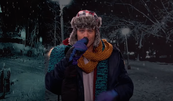 Chris Pine Sings School Closure Notices for the Northeast on Jimmy Kimmel Live – This Guy Has a Nice Voice!