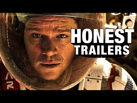 Honest Trailers Takes on Space Math with Their Version of The Martian Trailer!