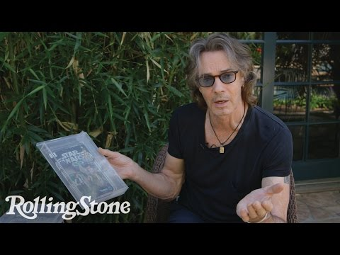 Rock Icon Rick Springfield Is A Massive Star Wars Fan And Collector!