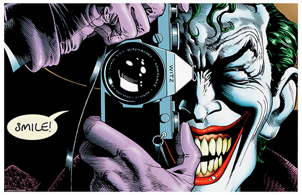 WE'RE GETTING AN ANIMATED KILLING JOKE!