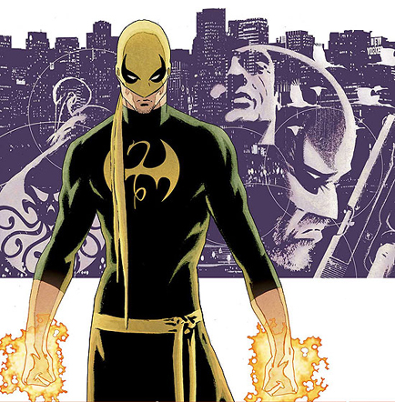 IRON FIST IS THE KNIGHT OF FLOWERS! Maybe