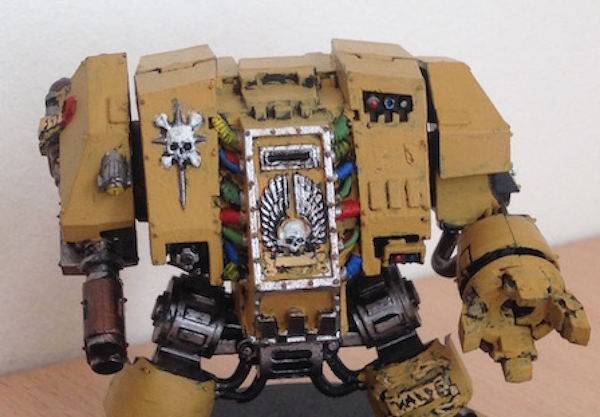 WARHAMMER – A Saga in Miniatures Part IV: The Captain, the Dreadnought and Some Space Orks