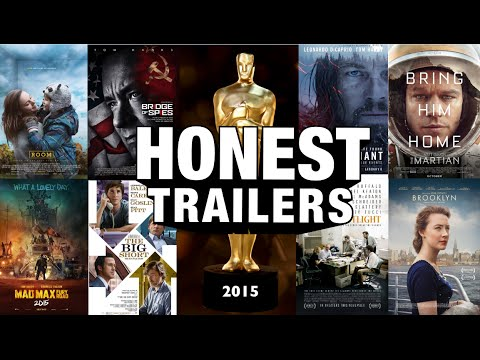 Honest Trailers Wins the Funny with Their Look at the Oscars