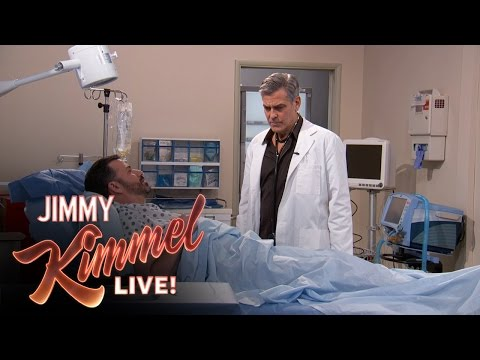 George Clooney Returns To Jimmy Kimmel Live For An ER Reunion!