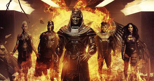 X-Men: Apocalypse Pic Shows Apocalypse and His Horsemen Walking Away from Explosions