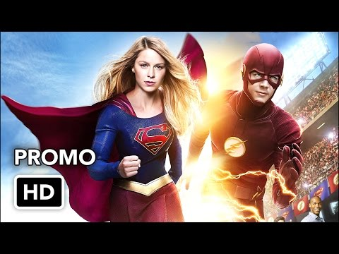Two Worlds Collide in this Sneak Peek at Supergirl and The Flash!