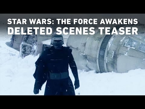 It's The Teaser For The Deleted Scenes On The Star Wars: The Force Awakens DVD/Blu Ray Combo….Yes, Really