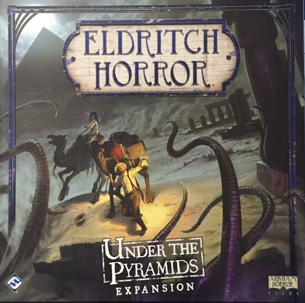 Tabletop Review – Eldritch Horror: Under the Pyramids Expansion