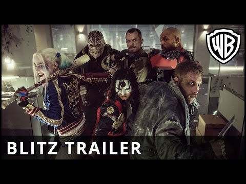 New Suicide Squad Trailer Gives Us More Character Than the Last!