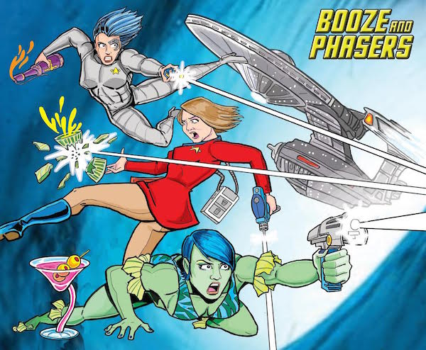 Ep 1 – Star Trek Origin Stories and Encounter at Farpoint on BOOZE AND PHASERS