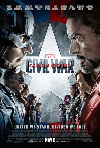 Movie Review – CAPTAIN AMERICA: CIVIL WAR