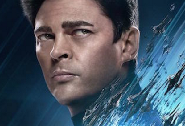 First 2 Character Posters for Star Trek Beyond Feature Karl Urban and Sofia Boutella