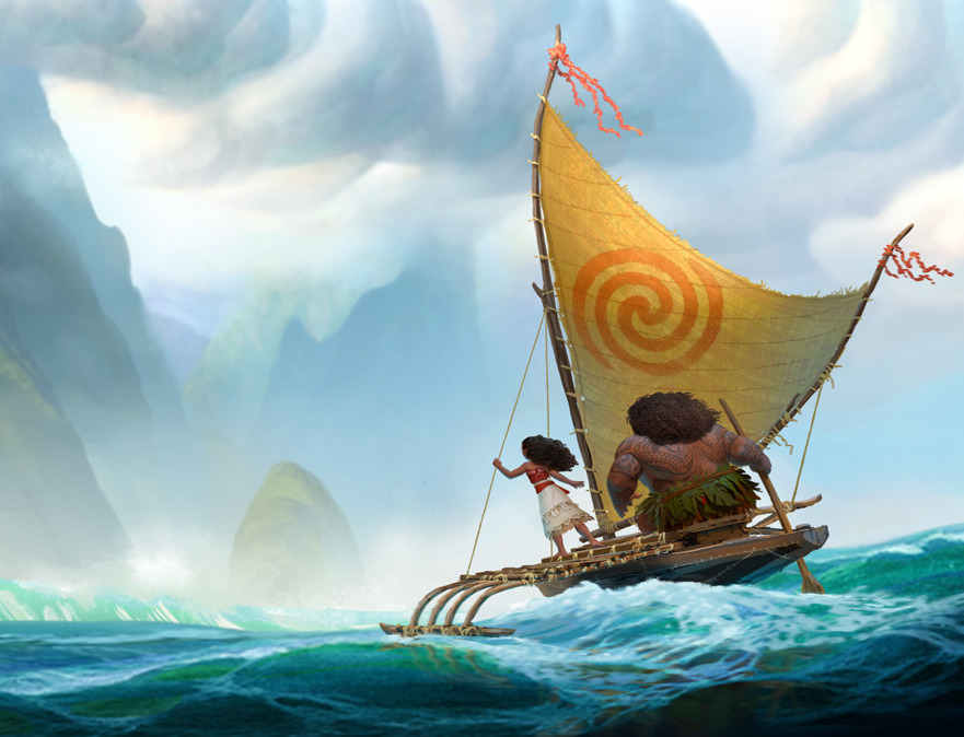 Disney's Latest Trailer is Here and 'Moana' is Gorgeous