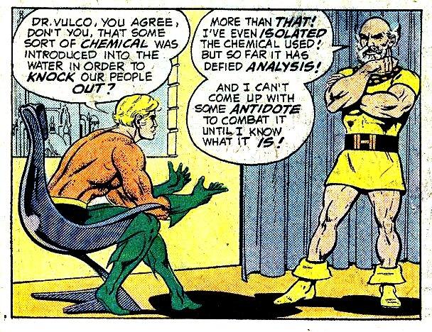 Willem Dafoe is in Justice League as Vulko the Atlantean!