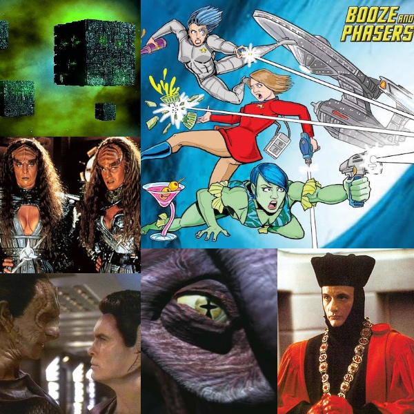 Ep 3 – Guest Brian D. Bradley, Star Trek News and Favorite Villains on BOOZE AND PHASERS