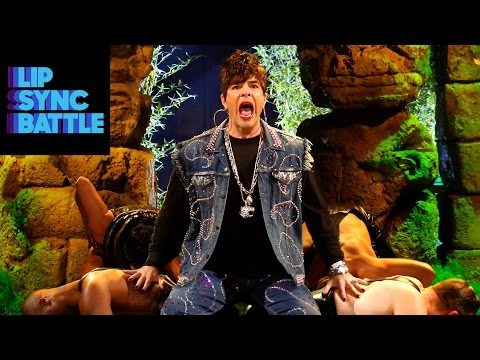 OMG! Watch This Teaser of Zachary Quinto Getting His Freak On for Lip Sync Battle