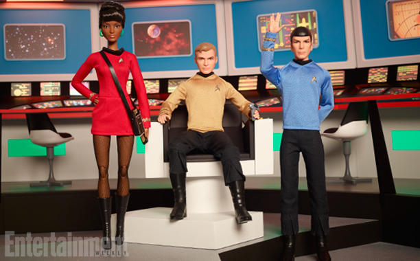 Star Trek Barbies To Hit Shelves Soon In Honor Of The 50th Anniversary!