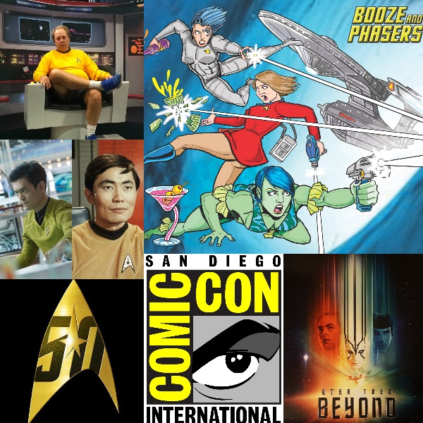 Ep 6  – Guest Mike McCafferty, Star Trek Beyond and Comic Con on Booze and Phasers