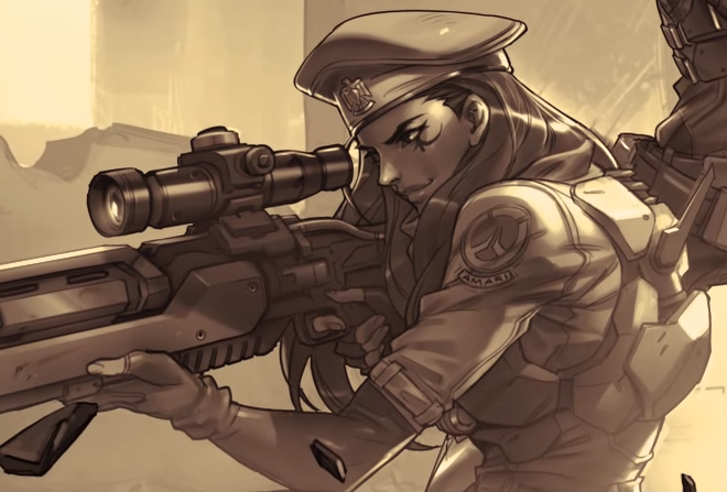 New Overwatch Hero, Ana Amari, the Healing Sniper of Your Dreams