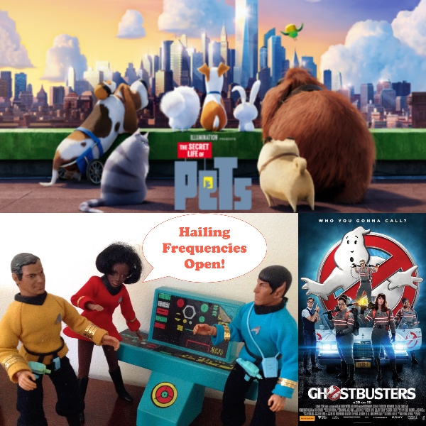 WEEKEND BOX OFFICE BREAKDOWN: July 15-17, 2016 – Pets Slimes Ghostbusters