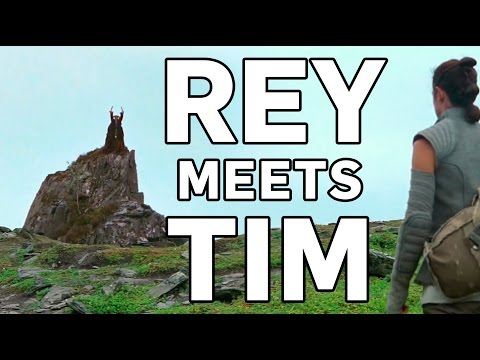 This Is Not the Jedi You're Looking for – This Fun Monty Python / The Force Awakens Mashup Shows Rey Finding Tim the Enchanter Instead of Luke