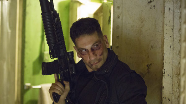 Pictures On-Set of The Punisher See Frank Castle Conferring with (SPOILER)!