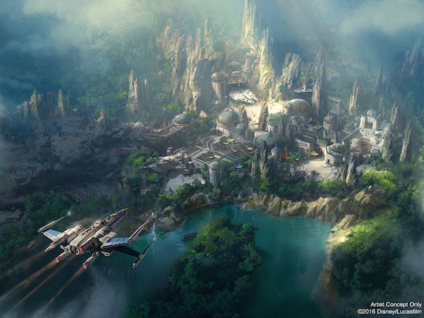 Disney's Star Wars Land Concept Art Revealed and It's Stunning!