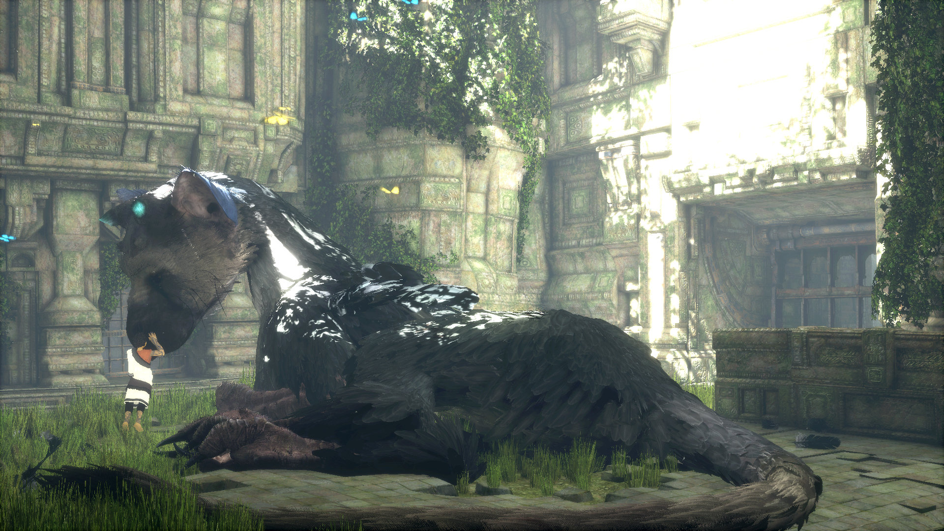 Sony Japan Releases 5 New Screenshots for 'The Last Guardian'