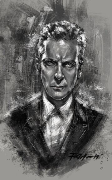 Doctor Who:  One Artist's Tribute to ALL of the Doctors.