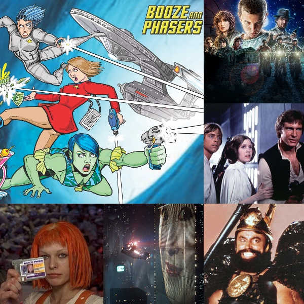 Ep 10 – Favorite Science Fiction Soundtracks with Guest Chris Brooker on BOOZE AND PHASERS