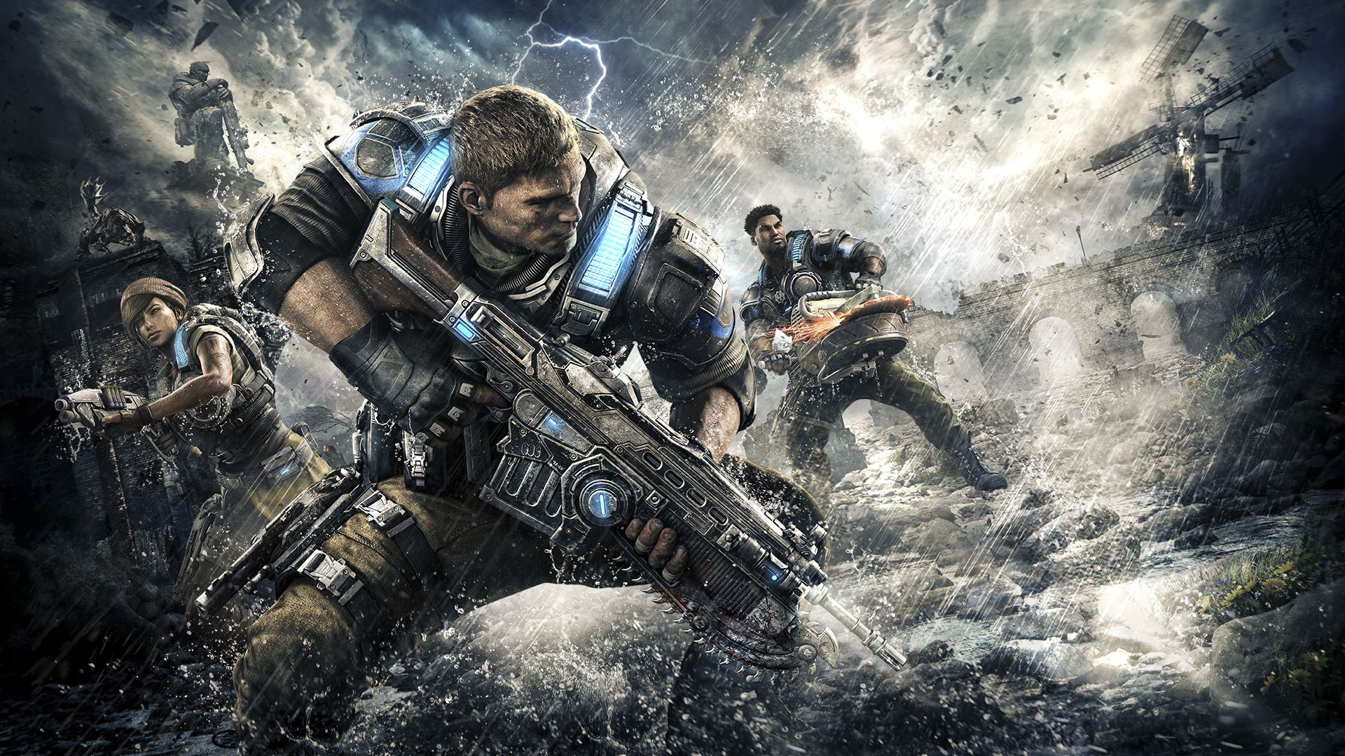 Xbox Announces 'Gears of War 4: Live' on October 5