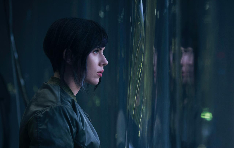 GHOST IN THE SHELL Gets Trigger Happy in Motion Posters